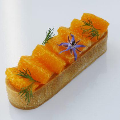 タルトディルオレンジ